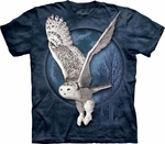Snow Owl Moon T-Shirt