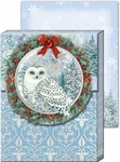 Snow Owl Note Pad