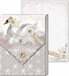 Snow Swan Pocket Notepad