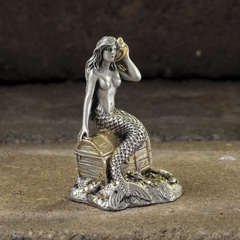 Sounds of the Sea Pewter Mermaid