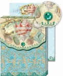 Sparkling Shells Pocket Note Pad