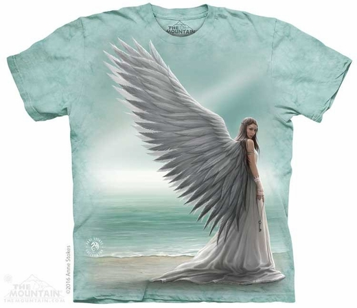 0a9a46fc Spirit Guide T-Shirt by Anne Stokes: Angel Gifts & Collectibles ...