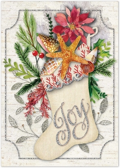 Starfish Joy Christmas Cards