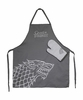 Stark Apron & Oven Mitt Set: Game of Thrones