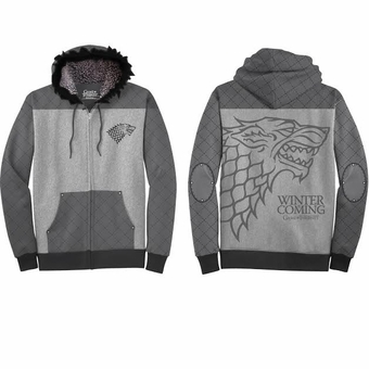 Stark Armor Hoodie: Game of Thrones
