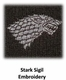 Game of Thrones Stark Cardigan Sweater - Officially Licensed