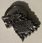 Stark Direwolf Keychain: Game of Thrones