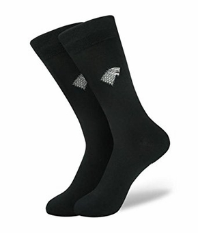 Stark Bamboo Dress Socks: Game of Thrones
