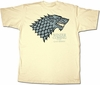 Stark T-shirt: Game of Thrones Size Small