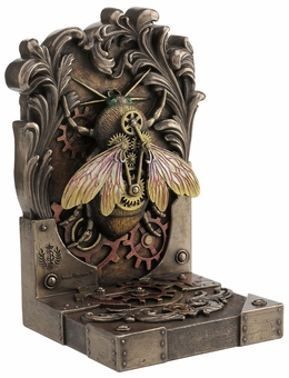 Steampunk Bee Bookend