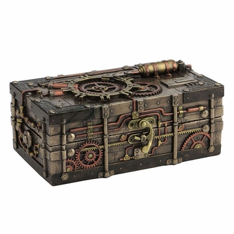 Steampunk Jewelry Box