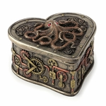 Steampunk Octopus Heart Box