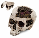 Steampunk Skull Box