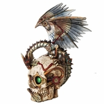Steampunk Skull Dragon