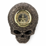 Steampunk Decorative Skull Wall Clock