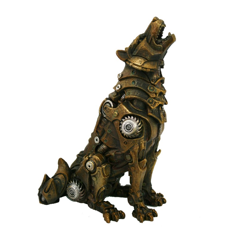 Steampunk Wolf Steampunk Gifts Amp Collectibles Fairyglen Com