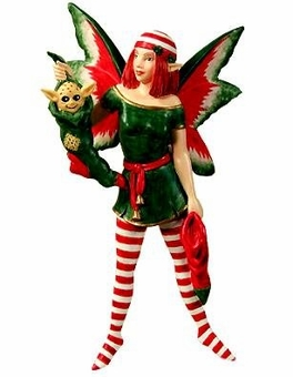 Stocking Diva Fairy Ornament