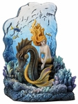 Sunlit Seas Mermaid Bookend