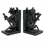 Sword & Dragon Bookends