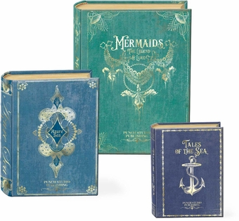 Tales of the Sea Nesting Book Boxes