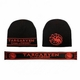 Targaryen Beanie + Scarf Set: Game of Thrones