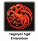 Game of Thrones Targaryen Scarf - Officially Licensed