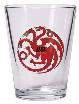 Targaryen Shot Glass: Game of Thrones