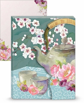 Teapot Mini Portfolio Notepad