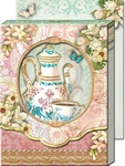 Tea-Time Diecut Pocket Note Pad