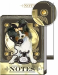 Telephone Chihuahua Pocket Note Pad
