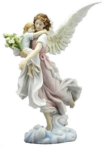 The Guardian Angel With Child Figurine Angel Gifts Fairyglencom