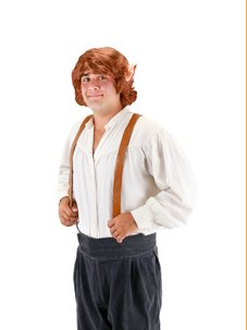 The Hobbit: Bilbo Baggins Wig with Ears