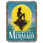 The Little Mermaid Tapestry Throw