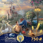 Thomas Kinkade Beauty & The Beast Puzzle