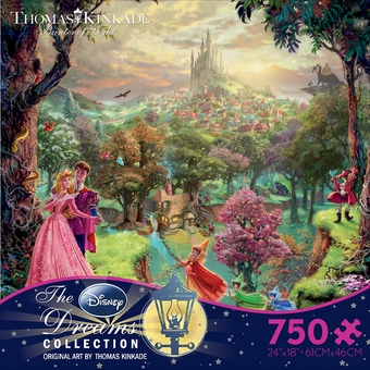 Thomas Kinkade Sleeping Beauty Puzzle (750 pcs)