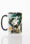 Three Wolf Moon Mug