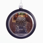 Game of Thrones Throne Disk Ornament