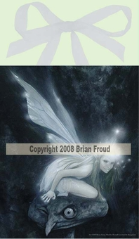 Tinkerbelle Fairy Tile <BR>by Brian Froud