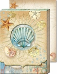 Tiny Seashells Diecut Pocket Note Pad