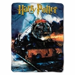 Hogwarts Express Train Throw Blanket