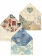 Travel Postage Note Card Trio
