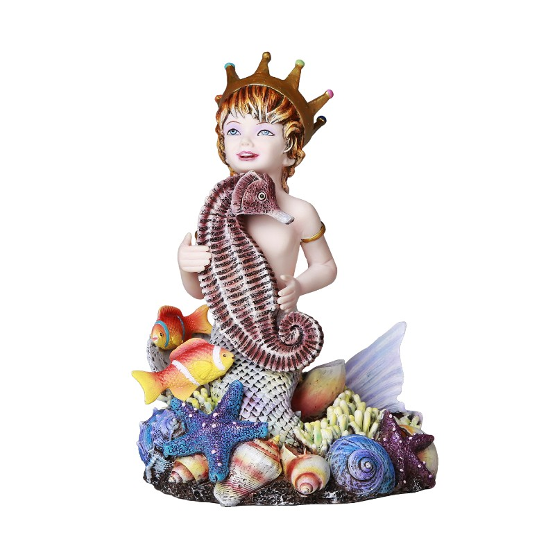 Jan Hagara Figurines For Sale: Treasure Chest Mermaid Figurine: Sheila Wolk Gifts