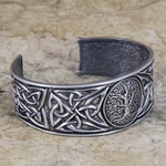 Tree of Life Pewter Bracelet