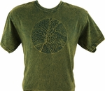 Tree of Life Embossed T-Shirt