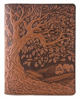 Tree of Life Leather Composition Notebook