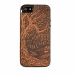 Tree of Life Leather iPhone Case