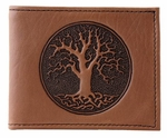 Tree of Life Leather Wallet