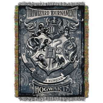 Harry Potter Triwizard Tapestry Throw Blanket