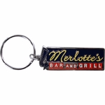 True Blood Merlottes Sign Keychain