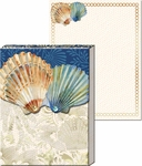 Two Seashells Pocket Notepad